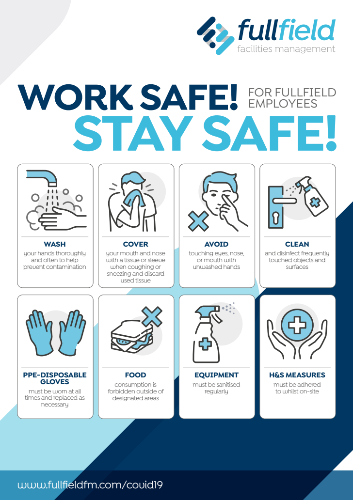 Stay Safe Poster